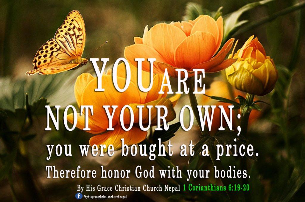 1-Corianthians 6:19-20