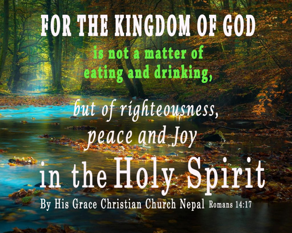 Romans 14 17