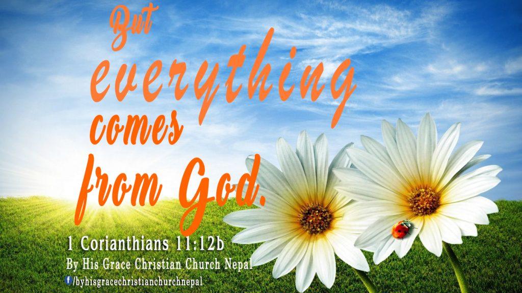 1 Corianthians 11:12